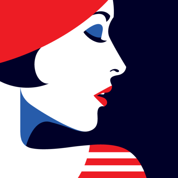 Malika Favre, graphiste française et experte du logiciel Illustrator