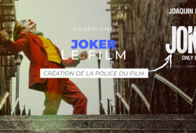 Joker, un film, une police et des posters fantastiques !
