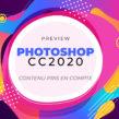 Photoshop CC 2020 peaufine l'outil contenu pris en compte.